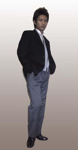 貸衣装ディレクタースーツレンタルの写真