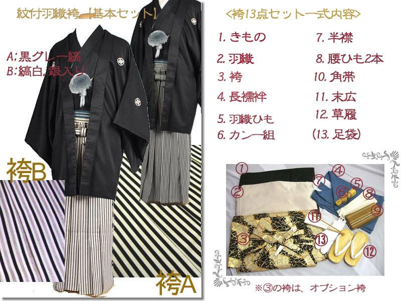 成人式紋付袴レンタル充実のフルセット内容と基本セットの袴