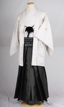 オプション袴レトロチェスレンタル紋付成人式用貸衣装白刺し子紋付袴
