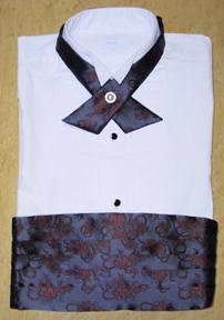 レンタル貸衣装Dolceドルチェタキシード用カマーベルトの例お写真