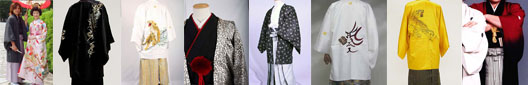 貸衣装Dolceドルチェレンタル紋付羽織袴看板イメージ 貸衣装専門店(有)茶新グループ