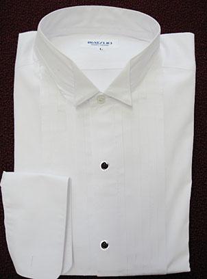 7b309593437f7 夜の正式ドレスコード用テールコート、タキシード用ウィングカラーフォーマルシャツ 黒