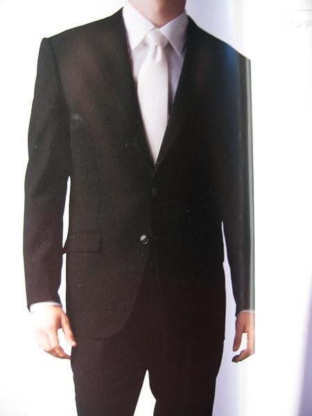 貸衣装メンズフォーマル略礼服スーツの写真
