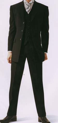 貸衣装ブラックスーツことフォーマルスーツレンタルの写真
