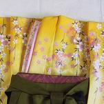 レンタル貸衣装Dolceドルチェ貸衣装卒業袴レンタル黄色のお着物イメージお写真
