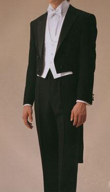 貸衣装テールコートレンタルのお写真